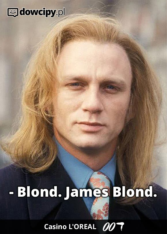 James Blond in Casino L'OREAL