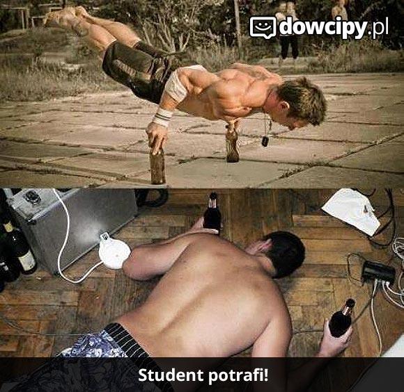 Student potrafi!