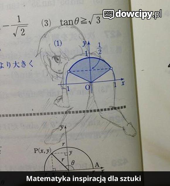 Matematyka inspiracją dla sztuki.