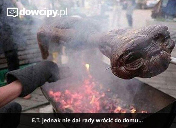 E.T. jednak nie dał rady wrócić do domu...